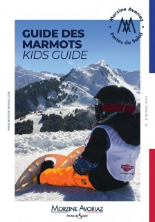 Guide  des Marmots  HIVER  / WINTER  Kids guide