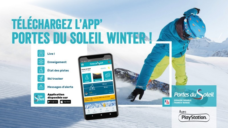 Application mobile Portes du Soleil Hiver