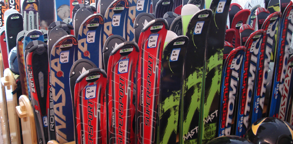 Magasins de ski