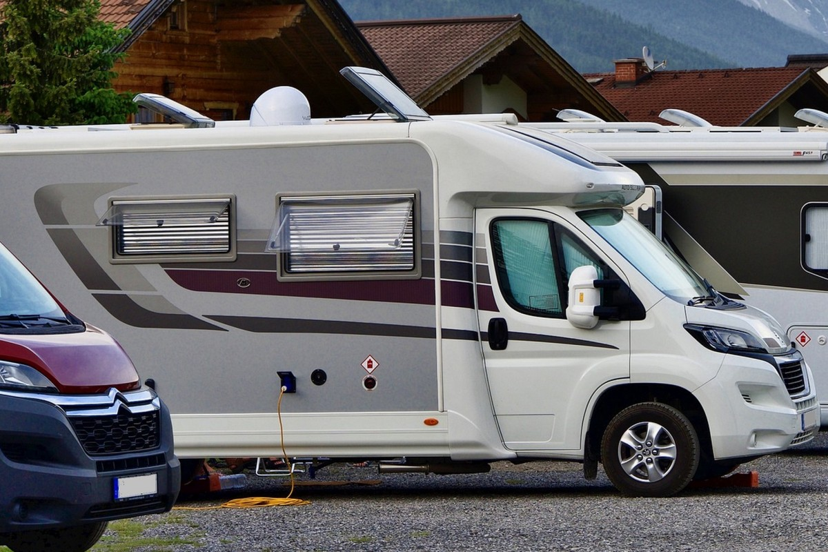 Camping car parking