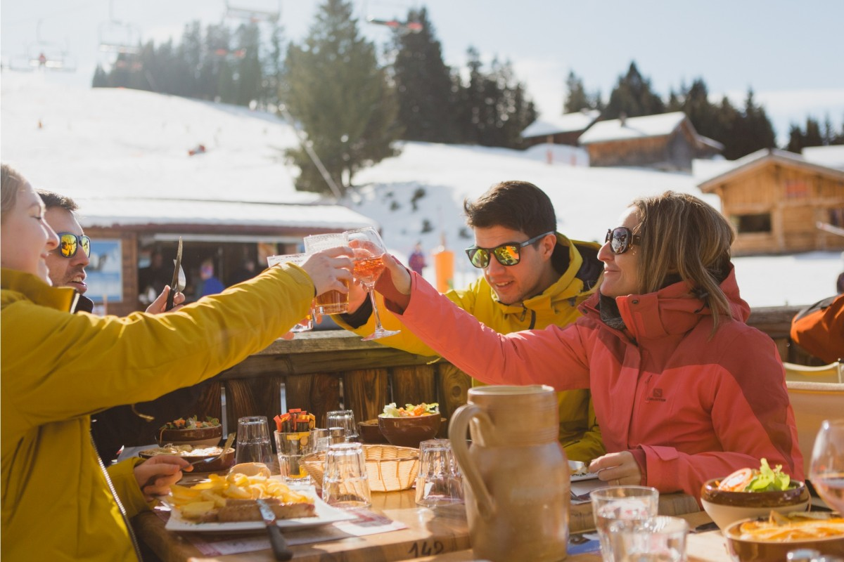 Restaurants on the slopes