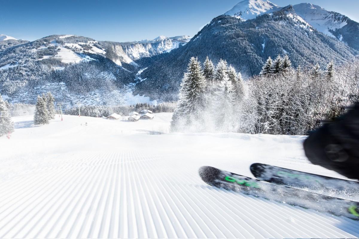 Ski lift Opening