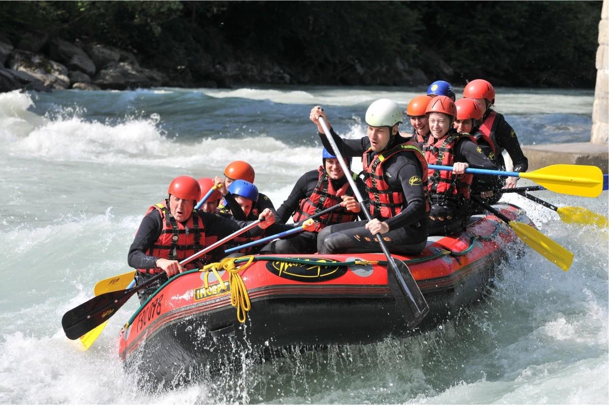 Whitewater activities
