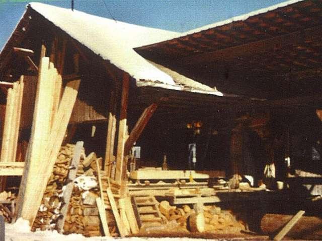 "21 Sawmill at ""Le Plan"""