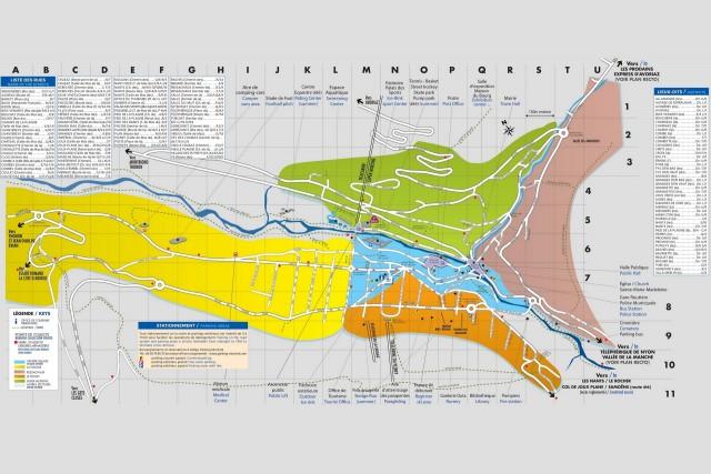 Map Morzine