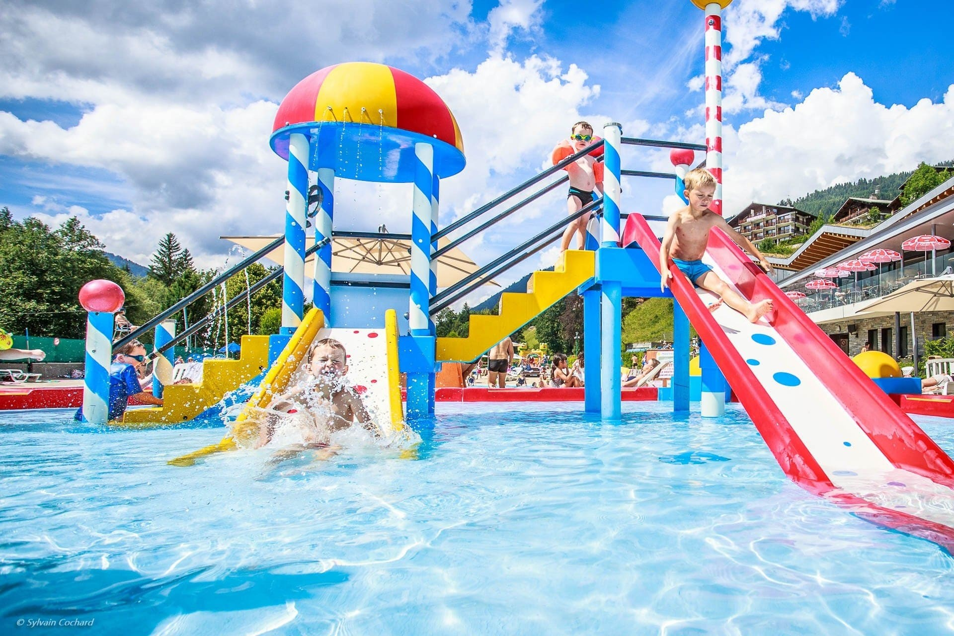 parc des dereches morzine Espace aquatique piscine