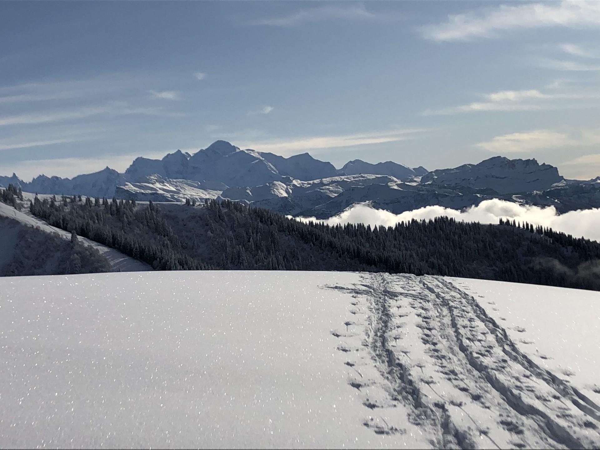 Parcours ski de randonnée