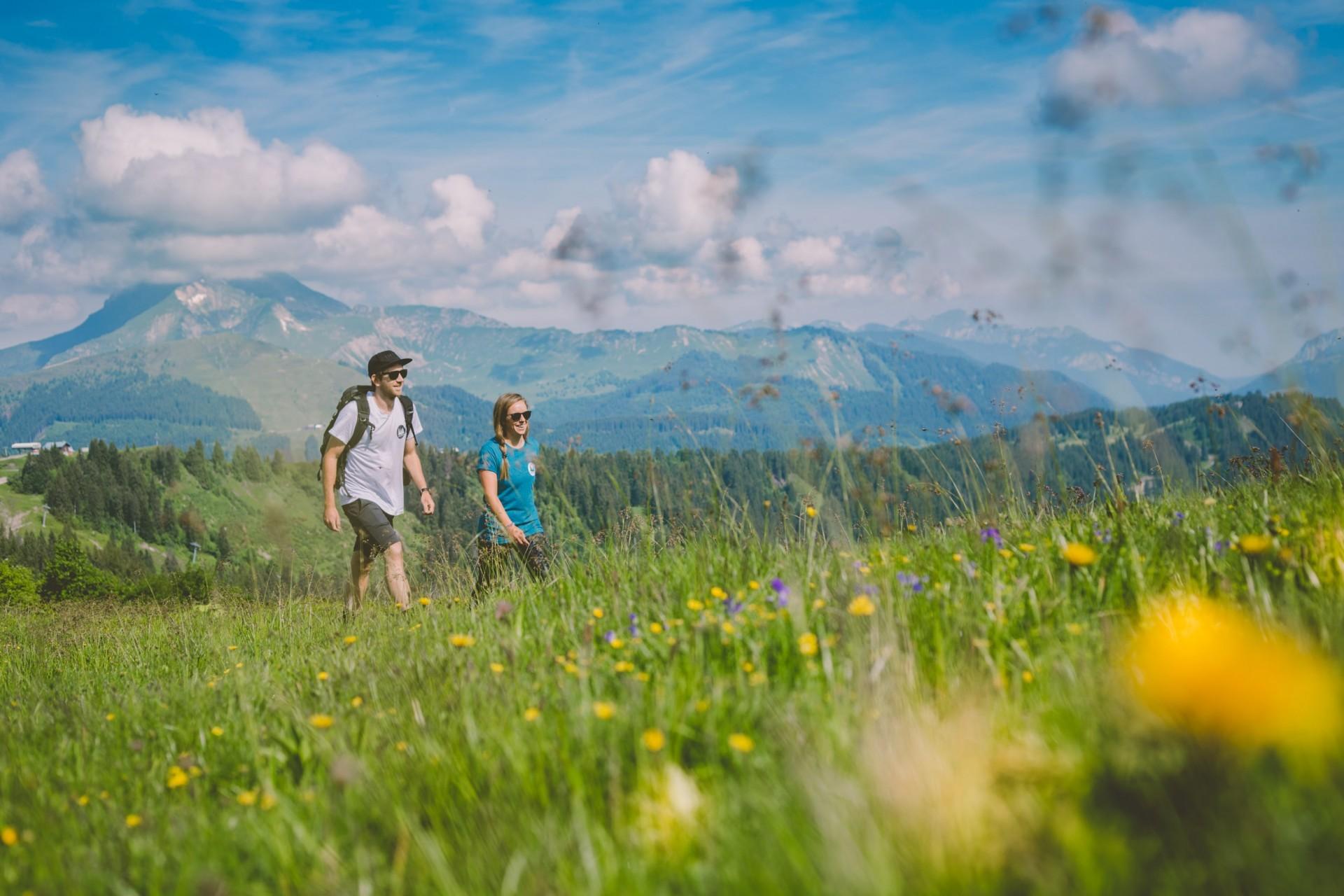 Hiking Morzine