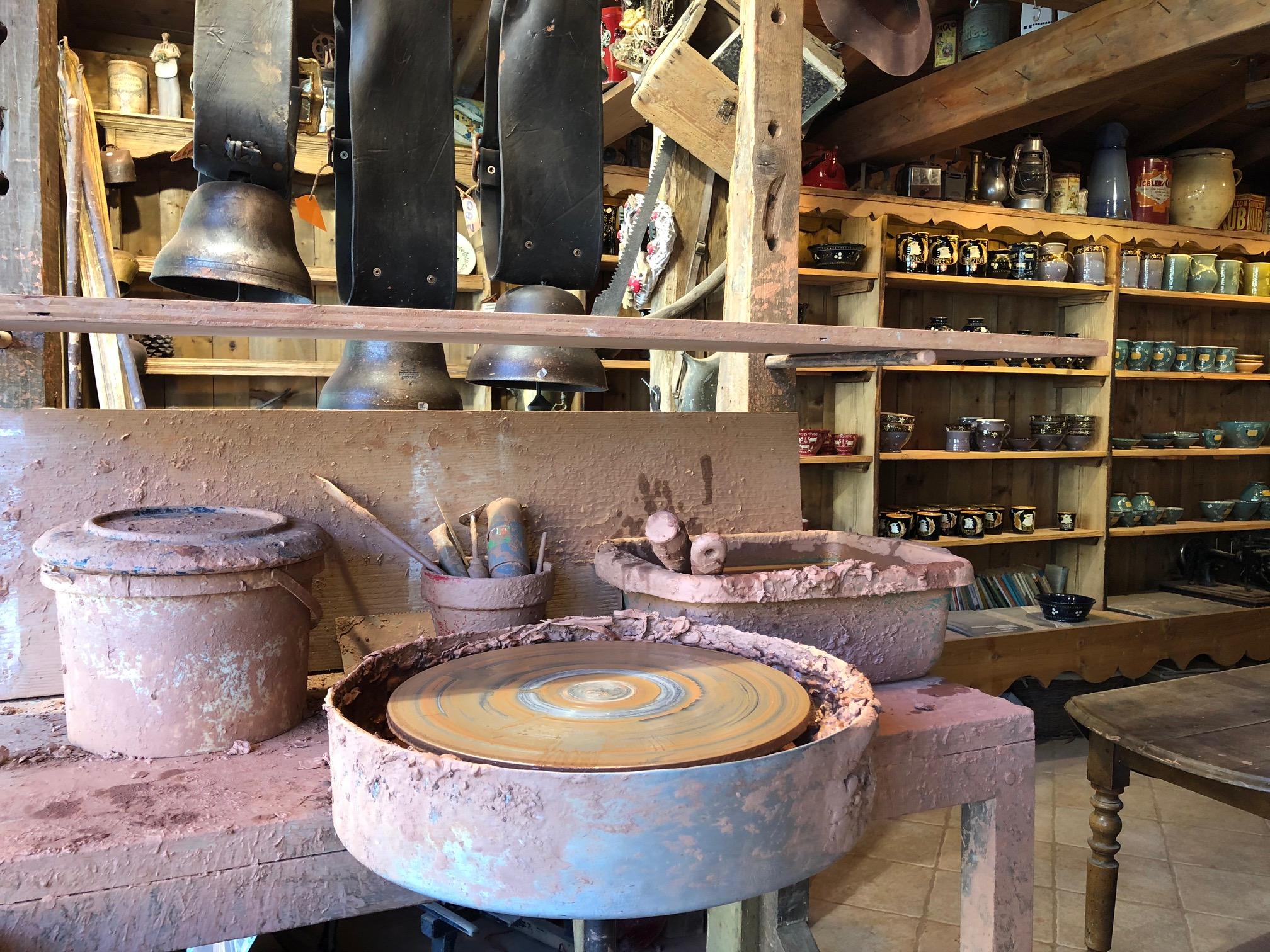 Atelier de Gérard le Potier