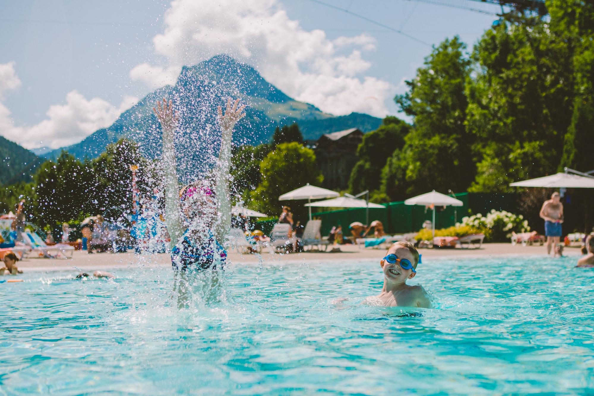 espace aquatique piscine morzine