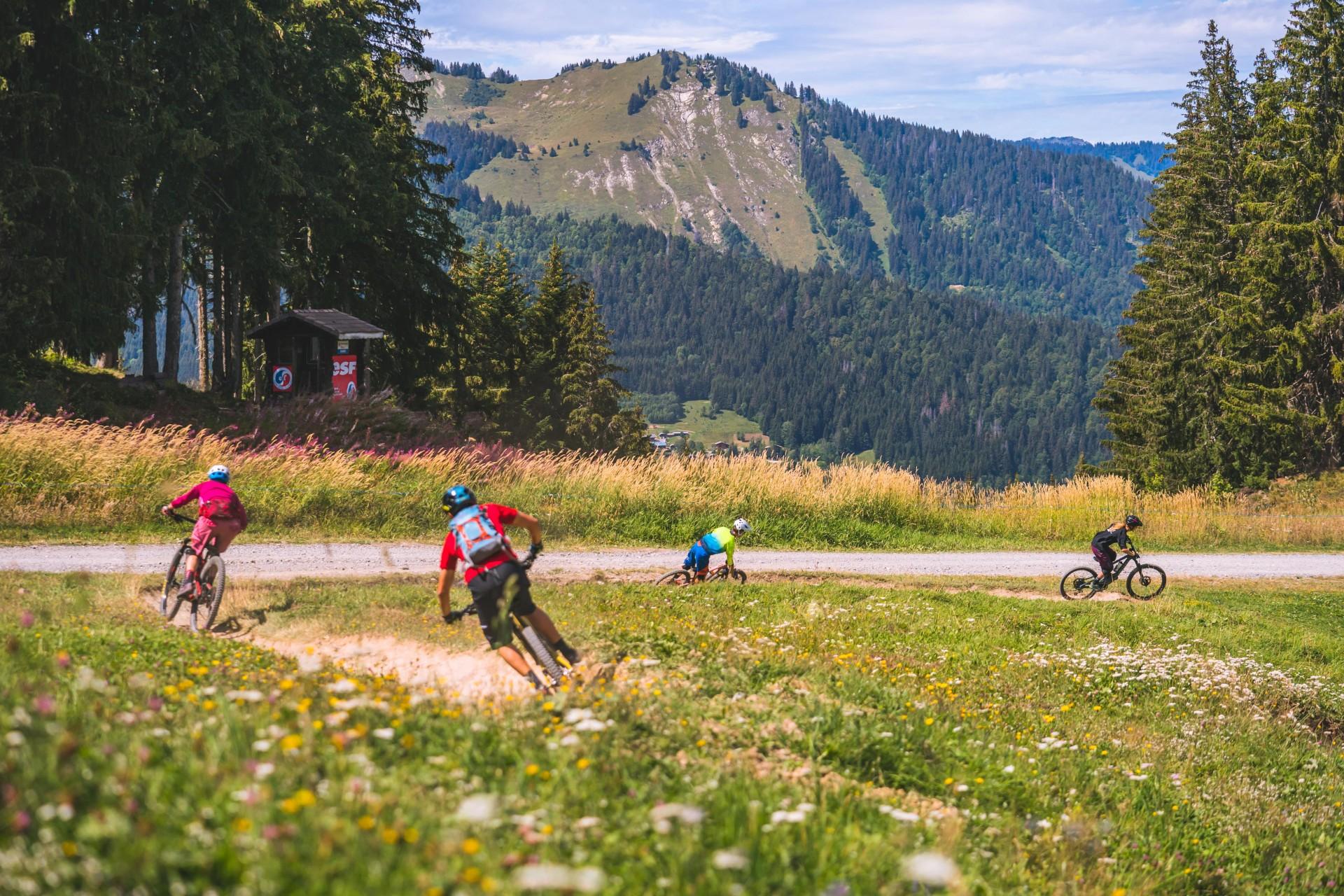 Le Morzine Bike Park, un secteur unique dédié au VTT