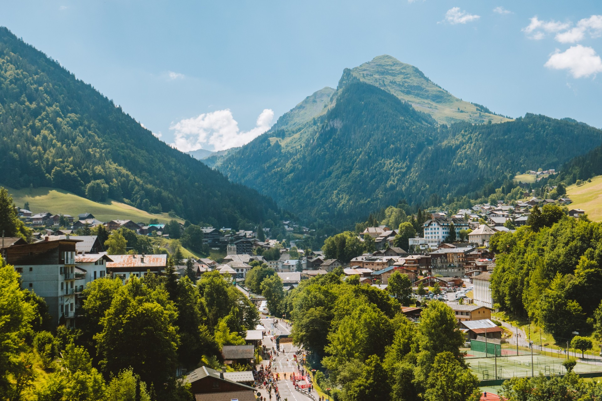 Nyon et village