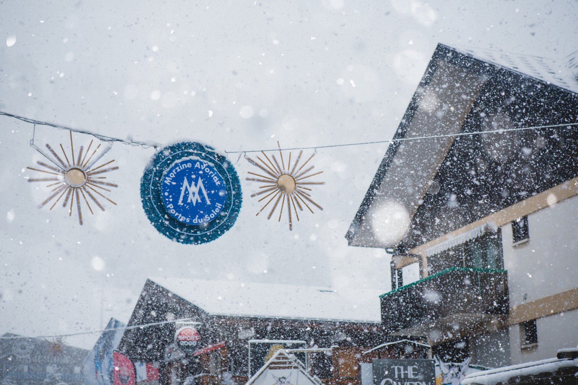 What can I do during the Christmas holidays in Morzine?