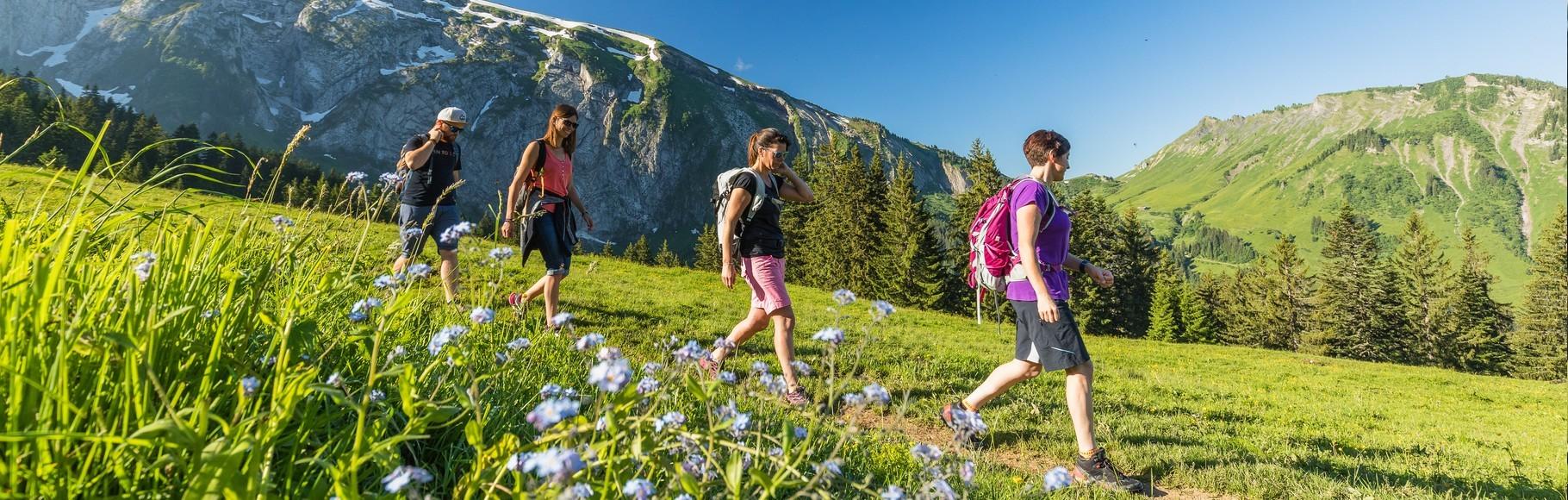 hike french alps morzine