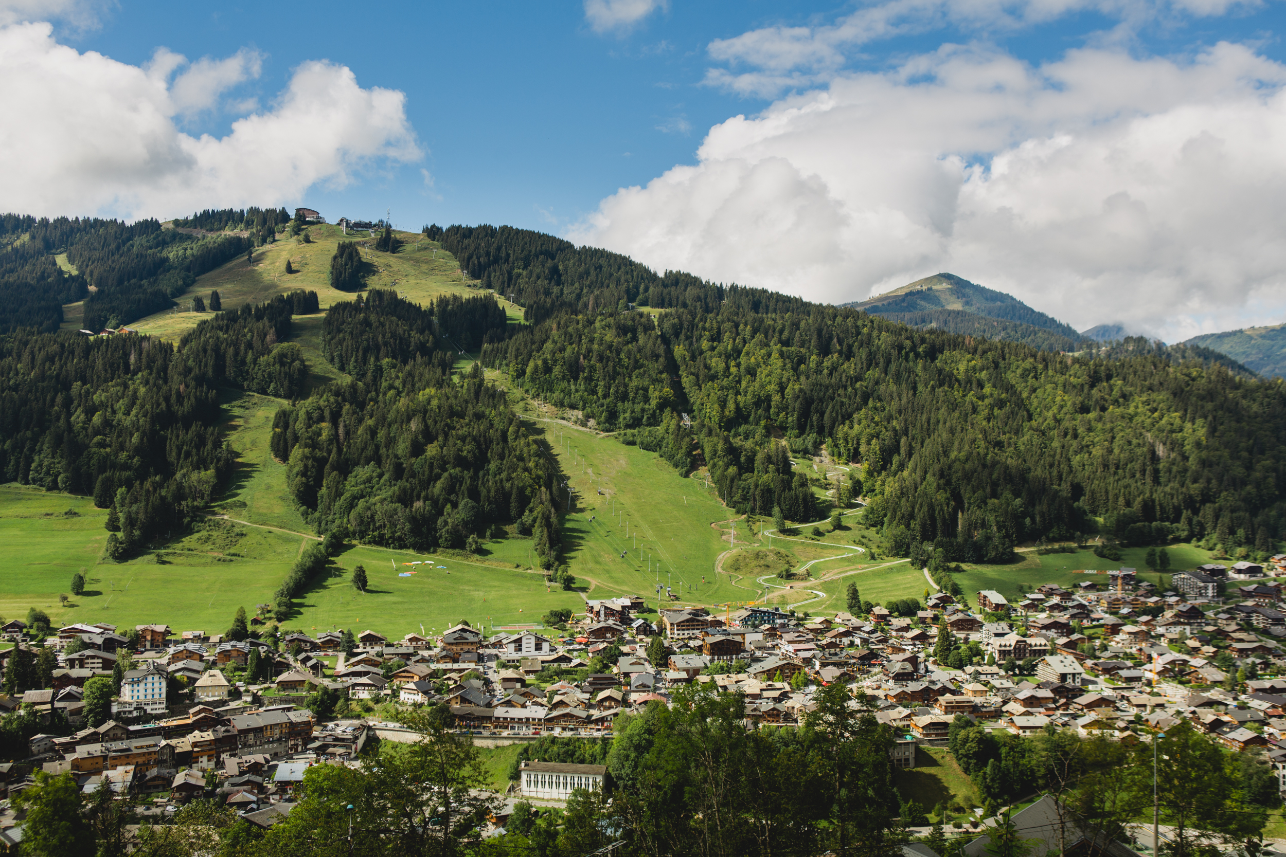 Pleney et village