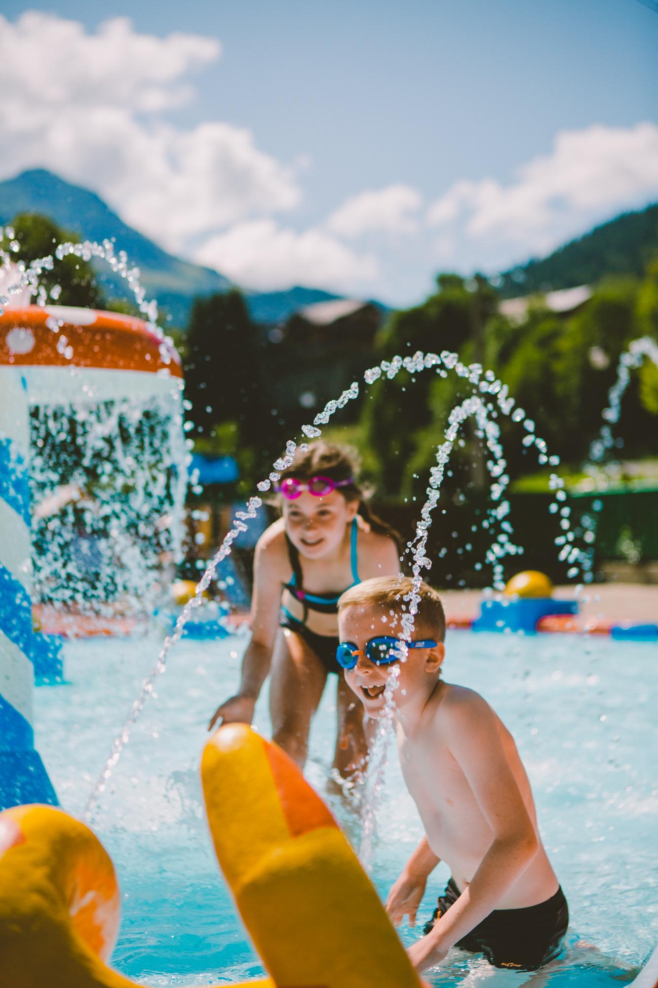 vacances piscine haute savoie morzine